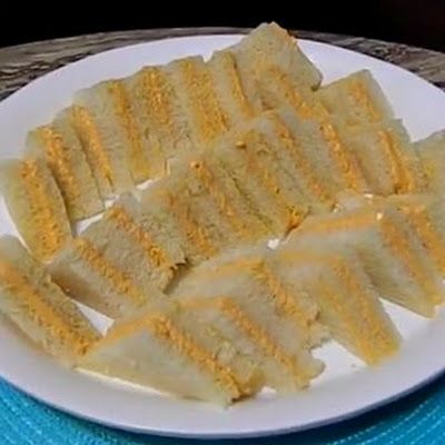 Sandwichitos de Mezcla/Puerto Rican Sandwich Appetizers Recipe – (4.8/5)