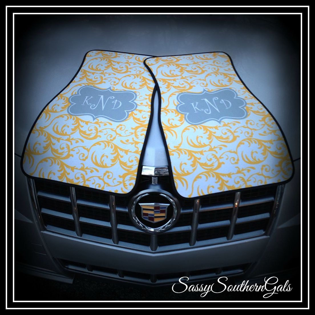 Preppy Monogrammed Car Mats by www.SassySouthernGals.com Teen ...