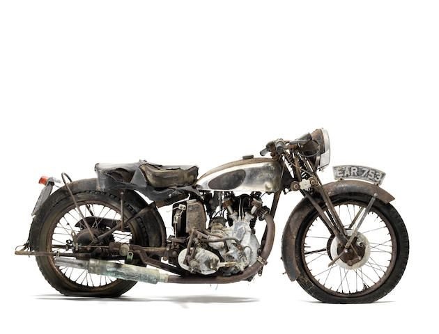 1938 Vincent-HRD 500cc Series-A Comet Project Frame no. D1586 Engine ...