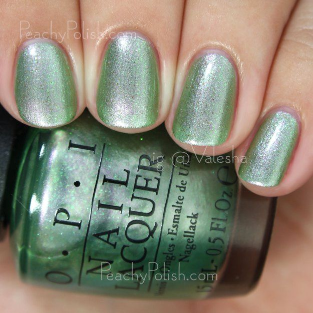 OPI Visions Of Georgia Green | Two To Celebrate Duo | Peachy Polish ...