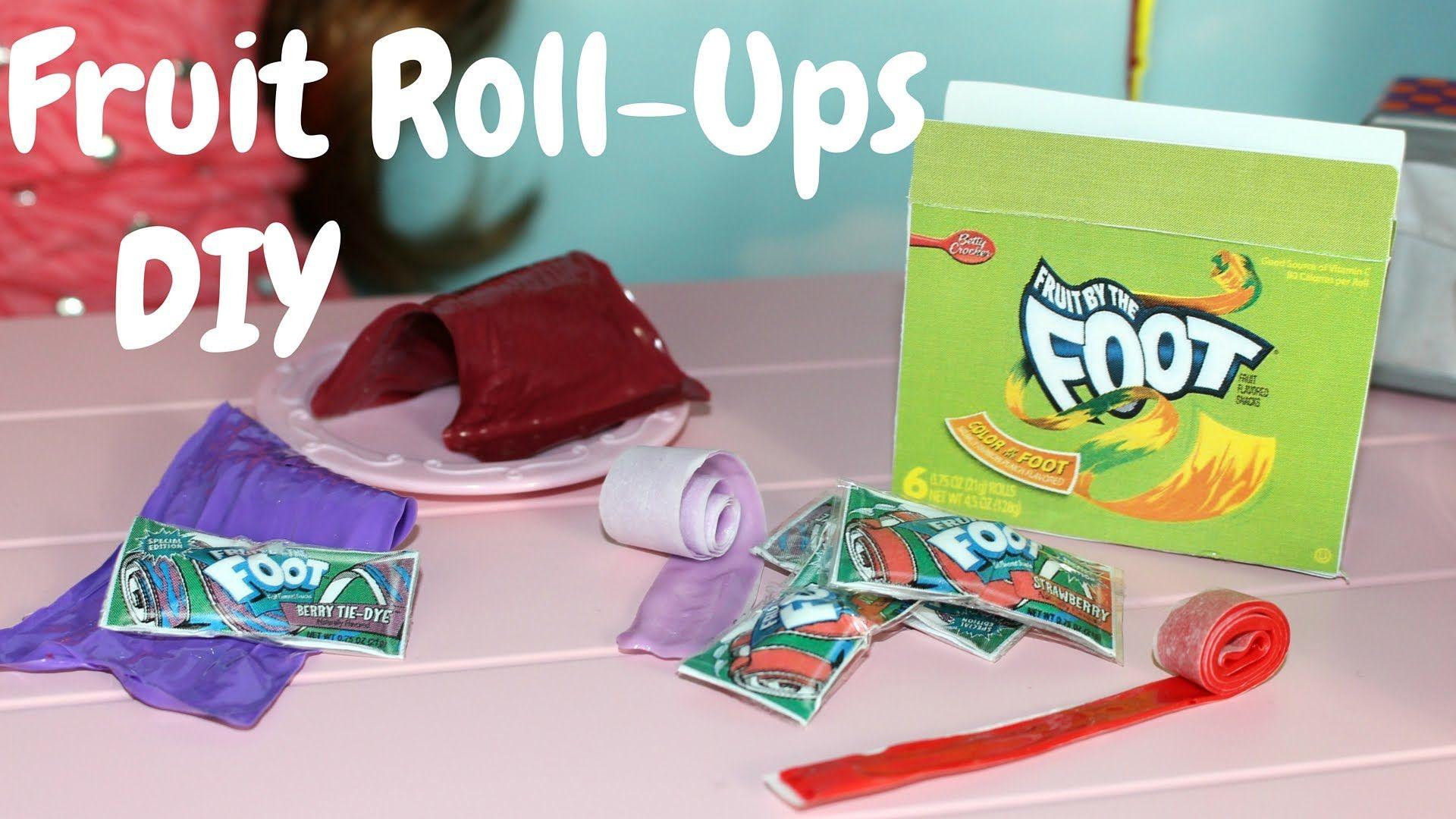 American girl diy fruit rollups craft american girl