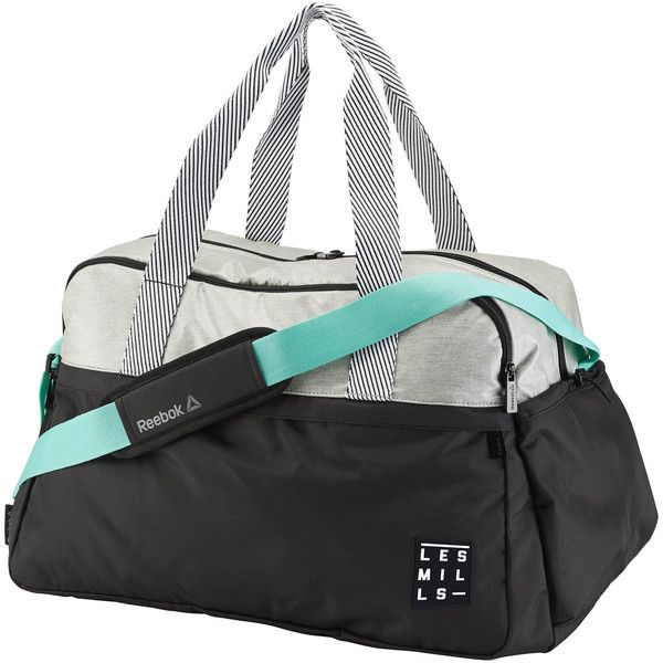 Reebok LES MILLS Duffle ( 75) ❤ liked on Polyvore featuring bags ...
