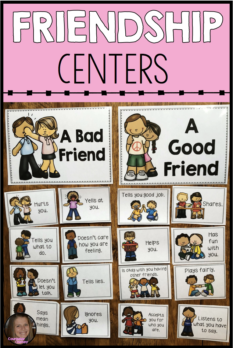 Friendship Centers | Counseling | Social skills activities