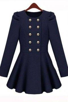 #90 COAT DRESS OR COAT AN SKIRT PATTERN