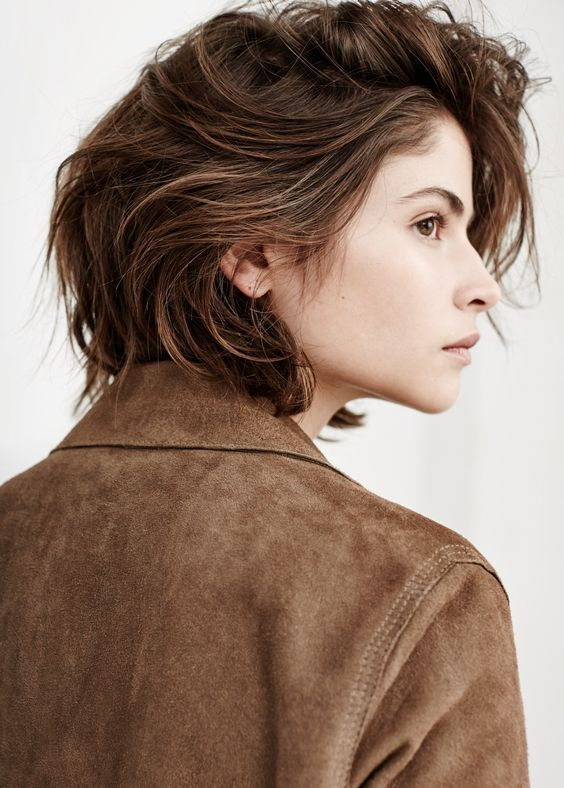 Side view | Artsy | Pinterest | Tomboy hairstyles, Srt hair and ...