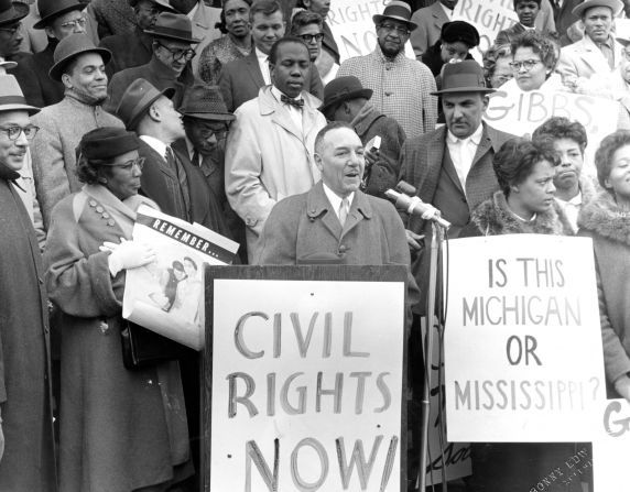 Walter P Reuther Library 24849 Naacp Demonstrations State Capitol Lansing 1960 Lansing Ingham County Capitols