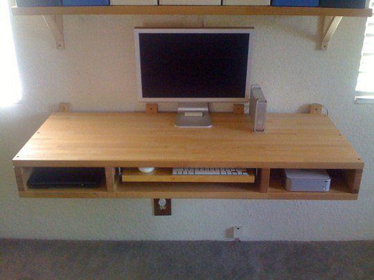 Diy Floating Corner Desk 23 diy floating desk ideas that will make your room beautiful