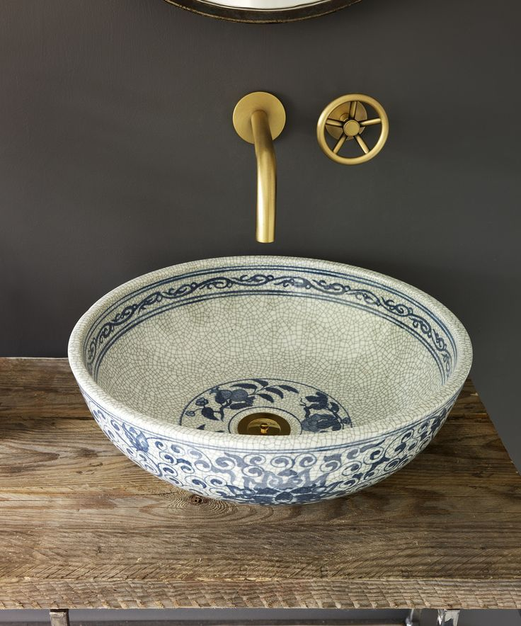 Super Cute Sink Idea Maybe For A Powder Room Diy Bathroom Remodel Powder Room Remodel Sink