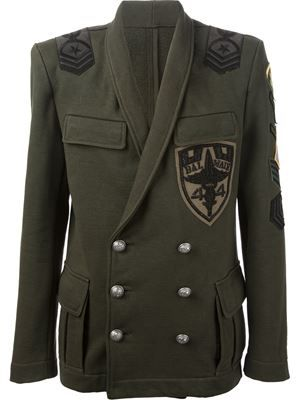 b5c4937e6a67 BALMAIN military jacket £1,739 sale £1,217 Balmain - Men's Designer Clothing  - Farfetch