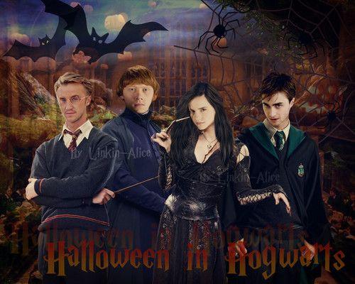 Harry Potter Wallpaper Halloween In Hogwarts Harry Potter Wallpaper Harry Potter Fan Art Hogwarts