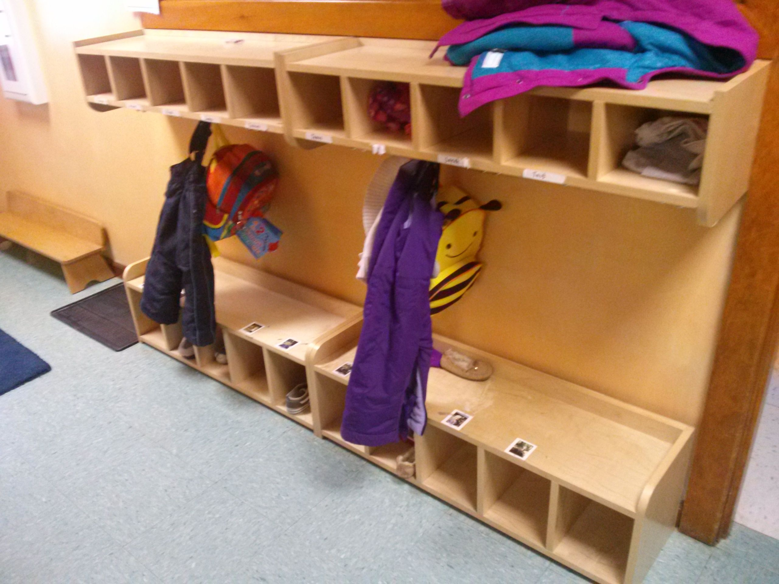 Student Cubbies Coat Cubby Montessori Furniture Furniture Cubbies