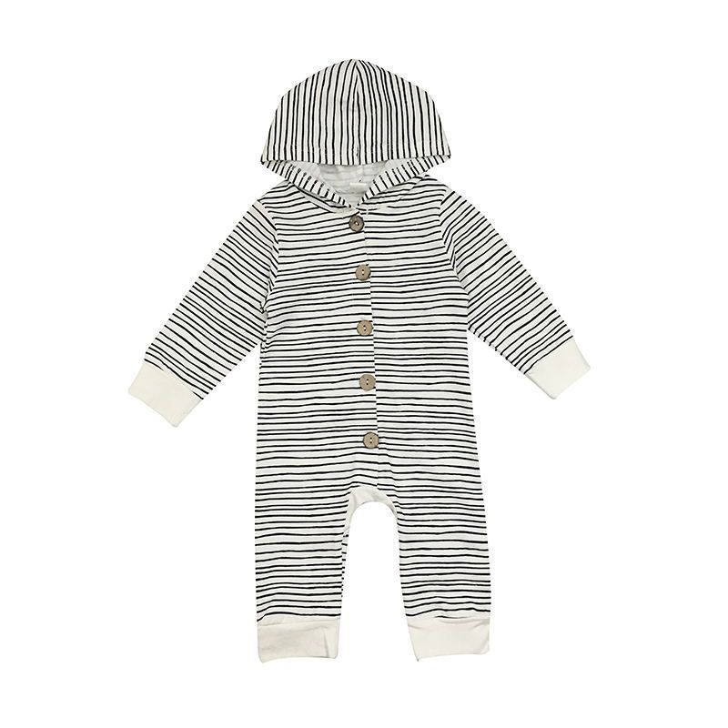 Bodysuits & One-pieces Infant Baby Jumpsuit Autumn Baby Boy Clothes Newborn Girl Romper Long Sleeve Zipper Casual Leaves Print Costumes Winter