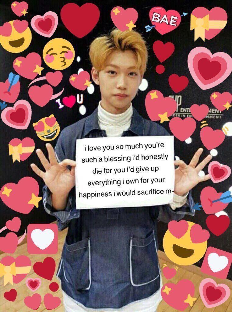 ˏˋpintereѕt Marrhollandˊˎ Love You Meme Kid Memes Cute Memes