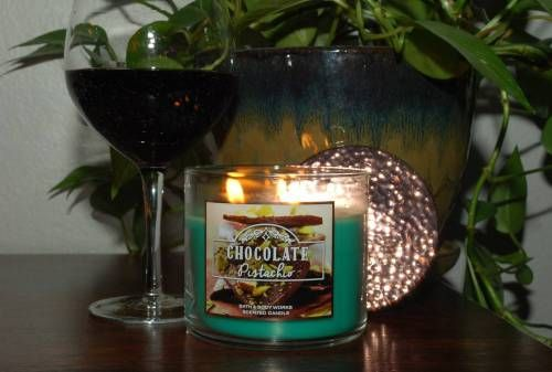 Bath & Body Works Chocolate Pistachio Scented Candle