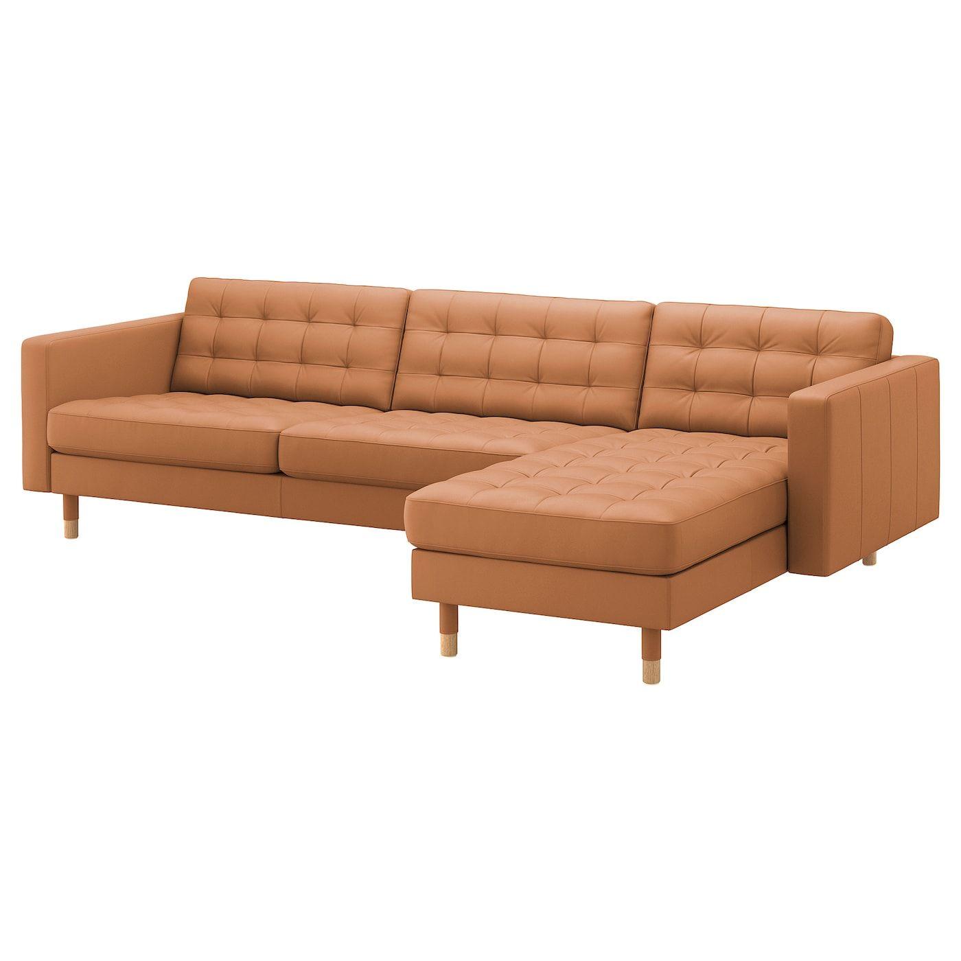 Ikea Us Furniture And Home Furnishings Ikea Landskrona Leather Sofa Landskrona Sofa
