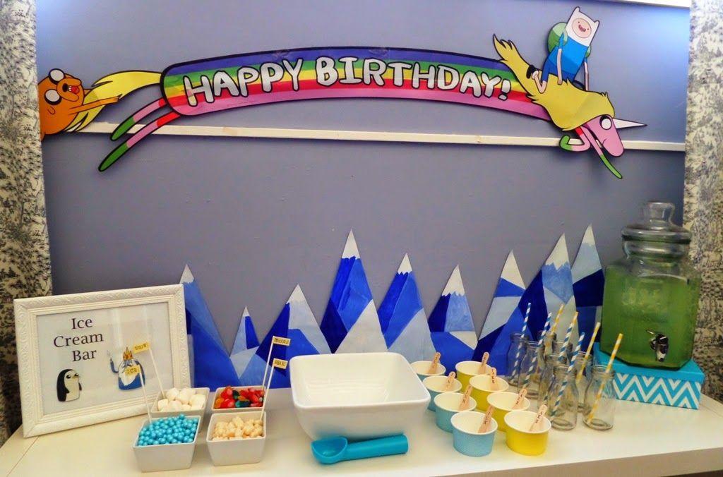 Adventure Time Party | Matthews birthday parties | Pinterest ...