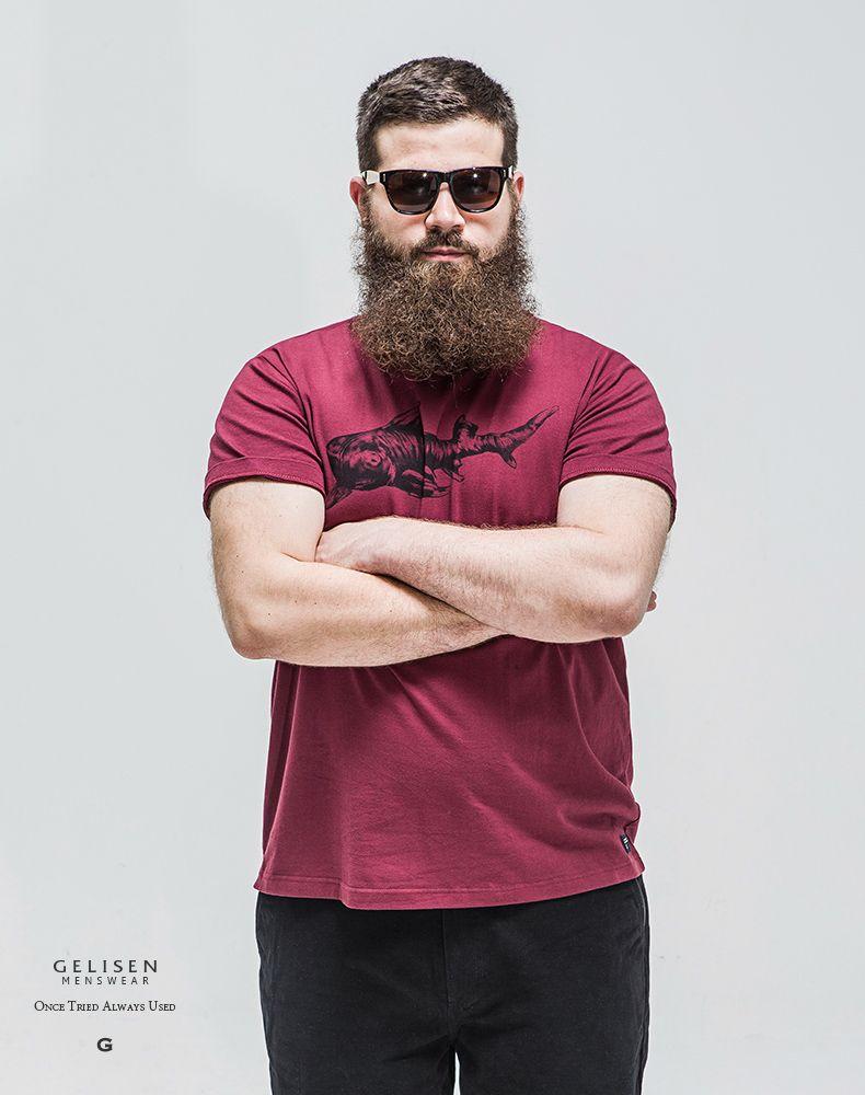 29089ddaa Gelisen Mens Top de luxo da marca de estilo, ( Vinho ), ( Xl 6xl ) em  Camisetas de Roupas e Acessórios - Masculino no AliExpress.com   Alibaba  Group