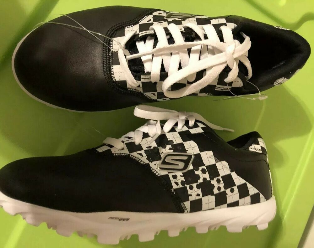 Skechers Go Golf Womens Golf Shoes Black White Size 6 50 S Look