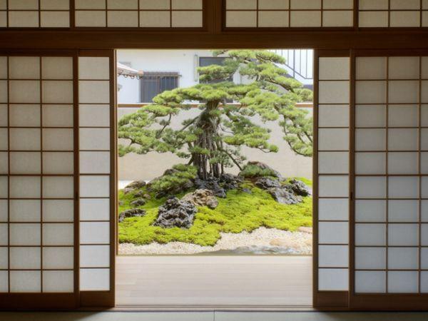 traditional courtyard view   japanese culture - tattoo   pinterest, Garten und bauen