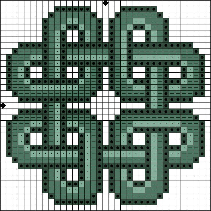 Killer Crafts & Crafty Killers--Cross Stitched Celtic Knot pattern ...