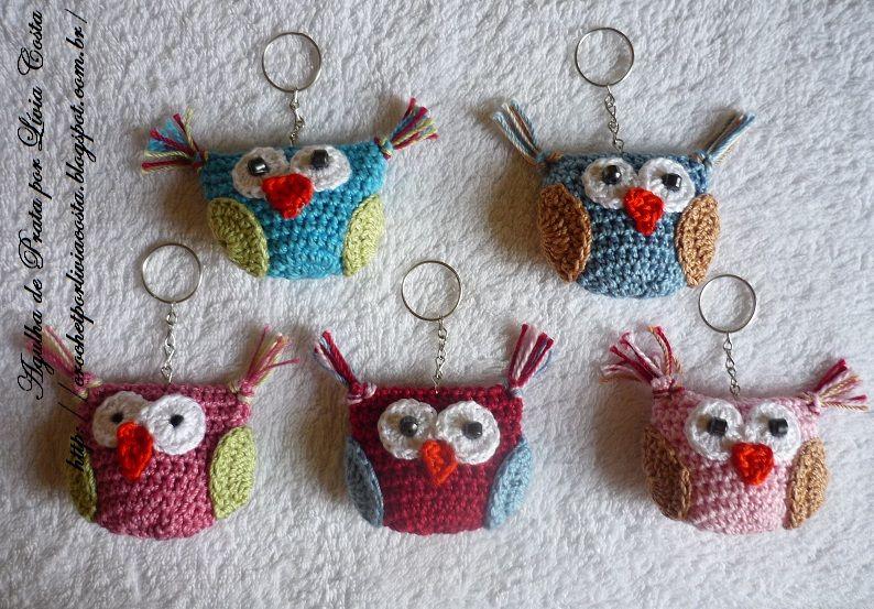 Arte em crochet por Lívia Costa