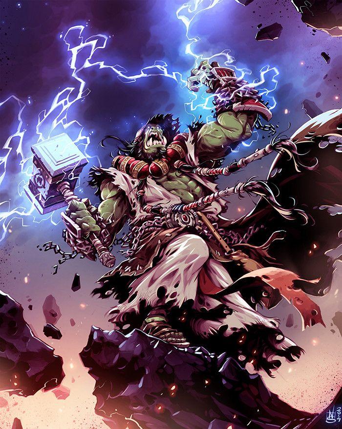 Thrall Nicola Saviori Warcraft Art Wow Of Warcraft World Of Warcraft World of warcraft thrall wallpaper