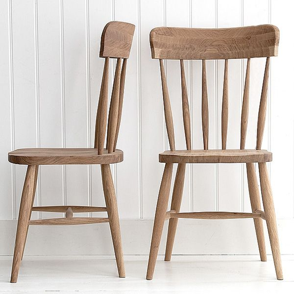 Our New Shaker Oak Spindle Back Chair
