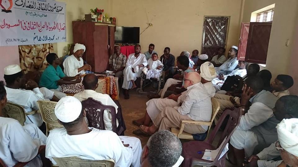 محمد جلال هاشم في شروق القضارف:السودان هو بلد السود على مر التاريخ