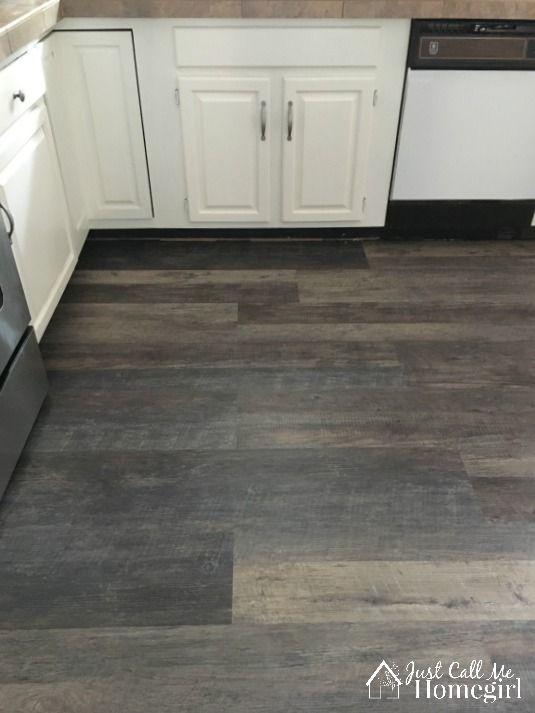 LifeProof Luxury Vinyl Plank Flooring In The Kitchen Flooring - Drop and lock vinyl flooring