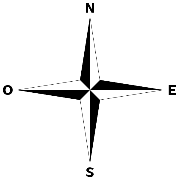 simple compass rose fr rose des vents wikip dia m taphorescience pinterest bureau et. Black Bedroom Furniture Sets. Home Design Ideas