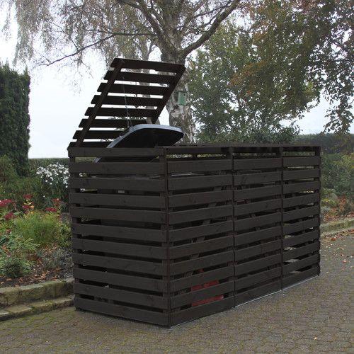 122 X 70 Cm Mulltonnenbox Triginto Aus Holz Budgeting