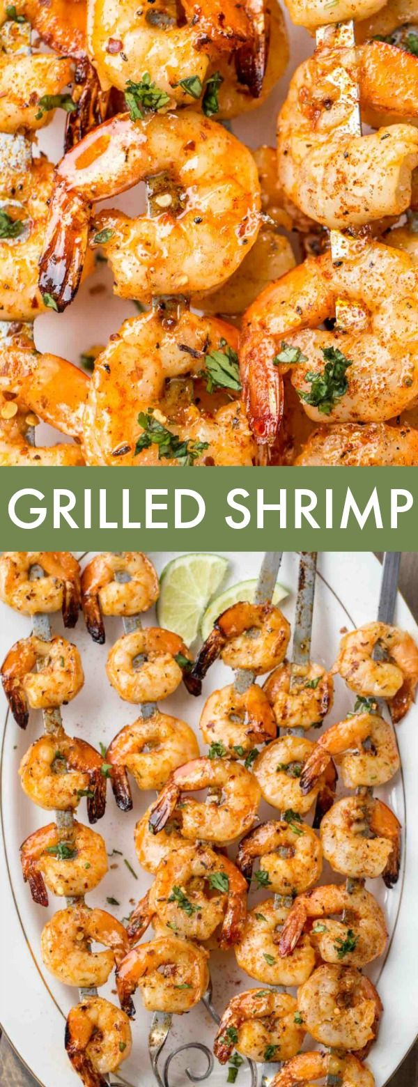 Grilled Shrimp Recipe #grilledshrimp