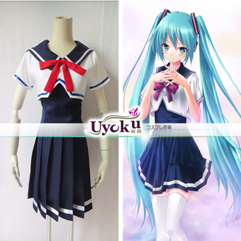 Details about anime vocaloid hatsune miku project diva f uniform cos clothing cosplay costume in - Diva pants ebay ...