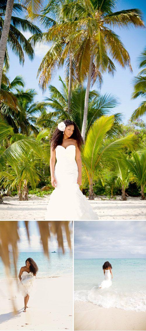 Tropical Beach Wedding Photo By Mw Studio