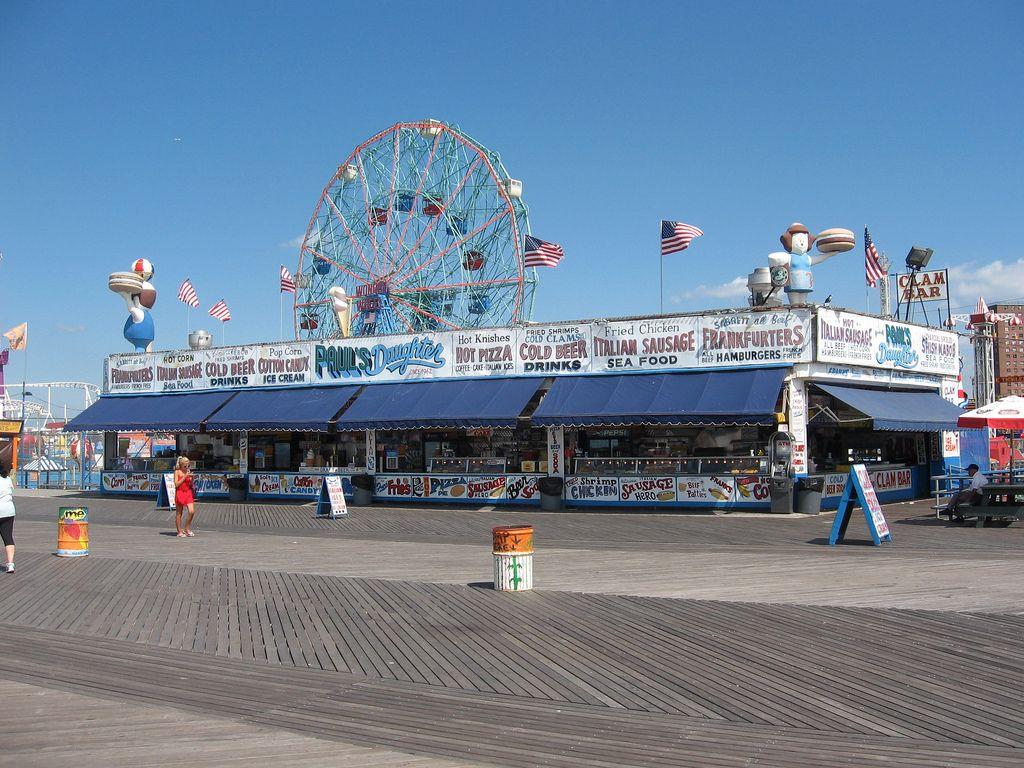 Paul S Daughter Coney Island Boardwalk Coney Island Coney Island History Places In New York