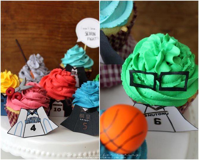 Midorima Shintaro Cupcake