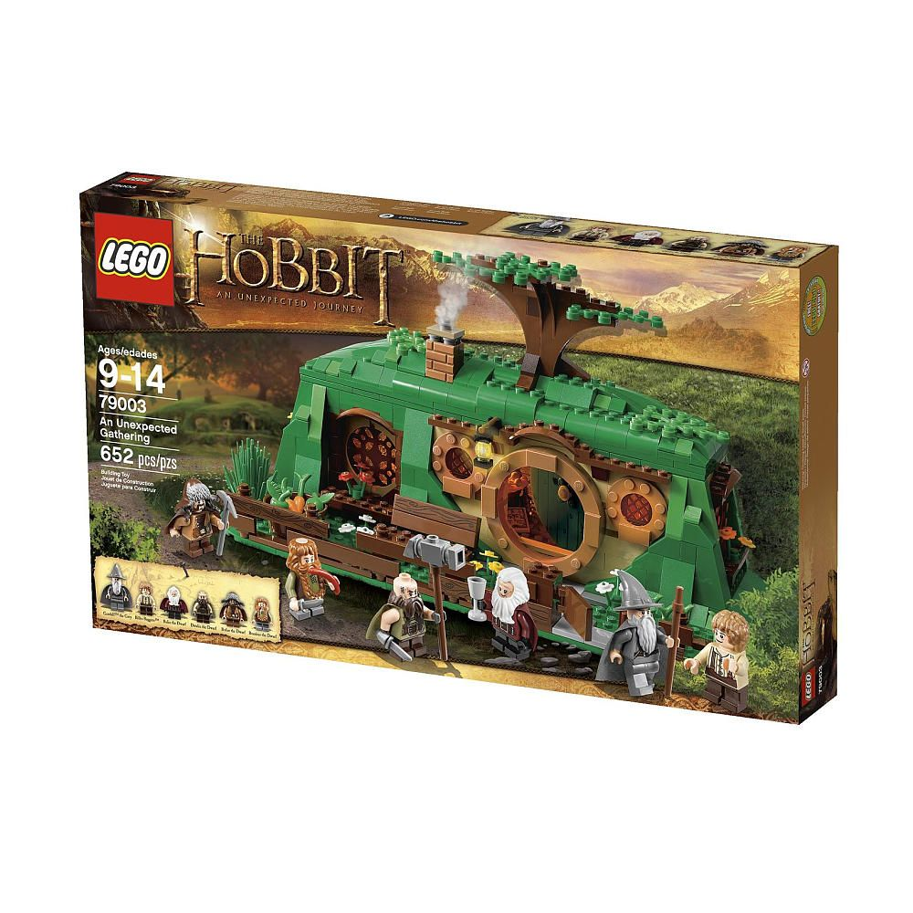Lego The Hobbit An Unexpected Gathering 79003 Lego Toys R Us Lego Hobbit The Hobbit Lego