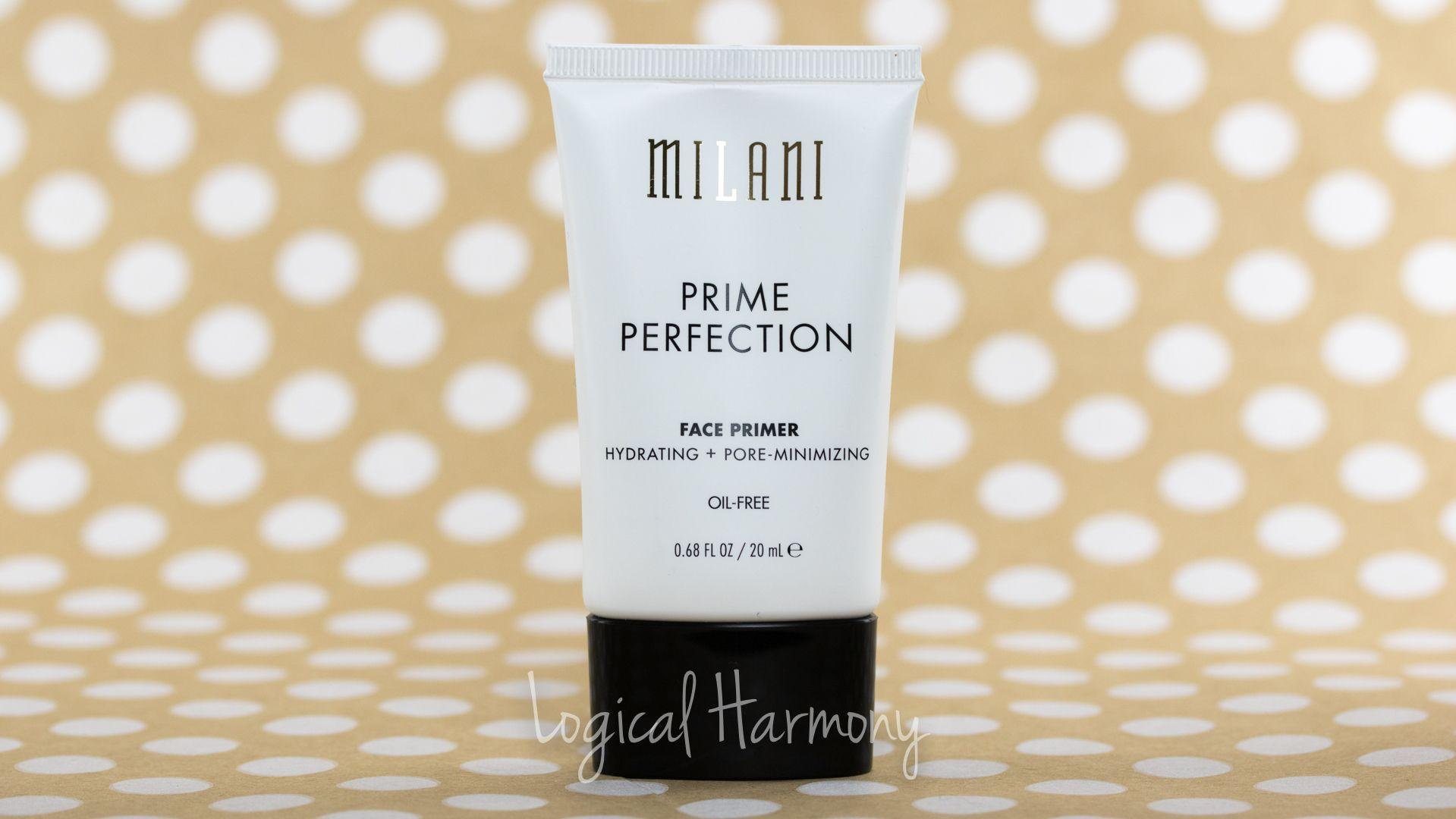 Milani Prime Perfection Hydrating + PoreMinimizing Face