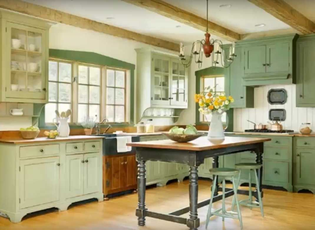 Blue Kitchen Cabinets Lowes Green Kitchen Cabinets