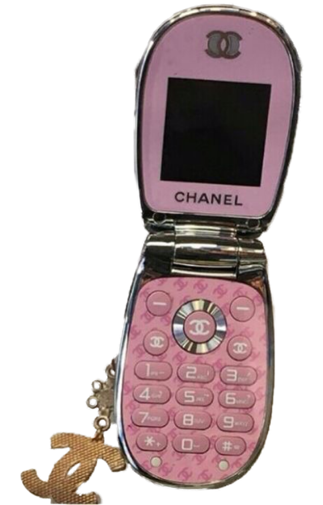 Cute Pink Plastic Cell Phone Polyvore Png Pink Plastic Flip Phones Pink