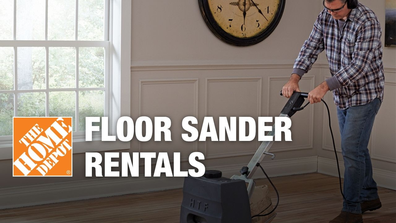 Floor Sanders Tool Rental The Home Depot Home Flooring The Home Depot