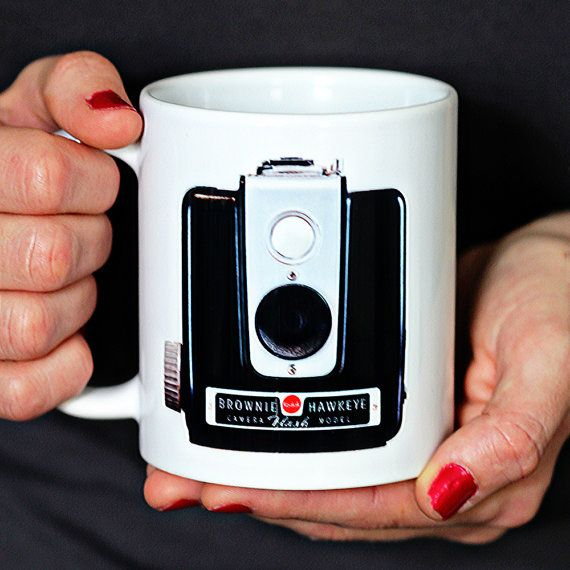 Coffee Mug Kodak Brownie It Is The by WinstonParrishMugs on