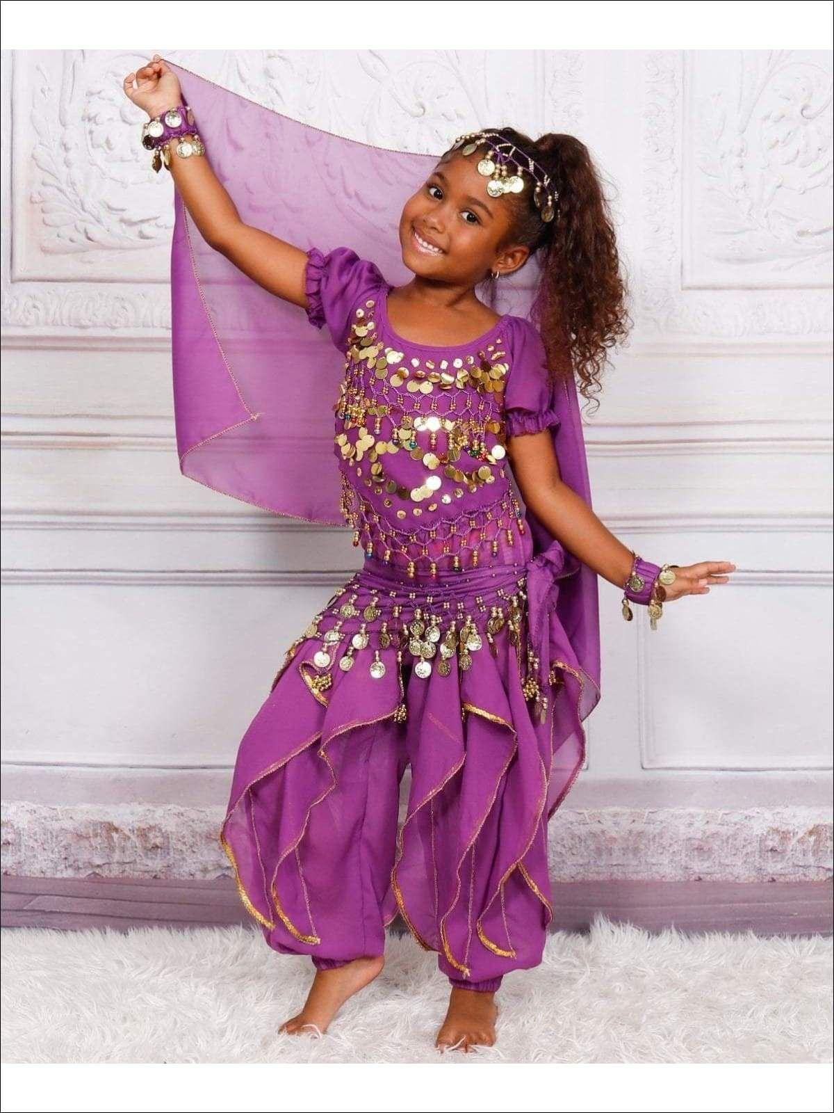 Girls Arabian Princess Genie Halloween Costume in 2020