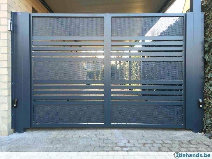 Portones Con Puerta Integrada Modernos Puertas Puertas De Garaje Puertas De Jardn Portao De Espaco You Door Gate Design House Gate Design Gate Designs Modern