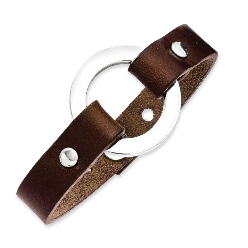 Chisel Brown 9in Bracelet, Men's