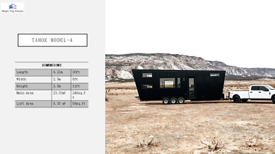 "Tiny Home Catalog L19/'.6/"" X W7/'2/"" or L26/' X W7/'.2/"" Professionally built"