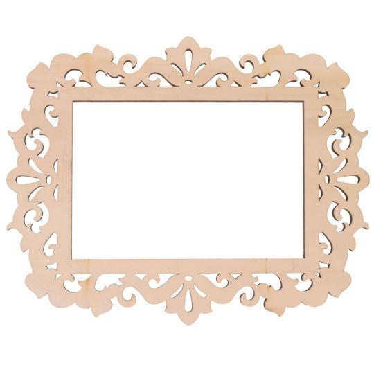 artminds wooden laser cut frame ivy 4 x 6