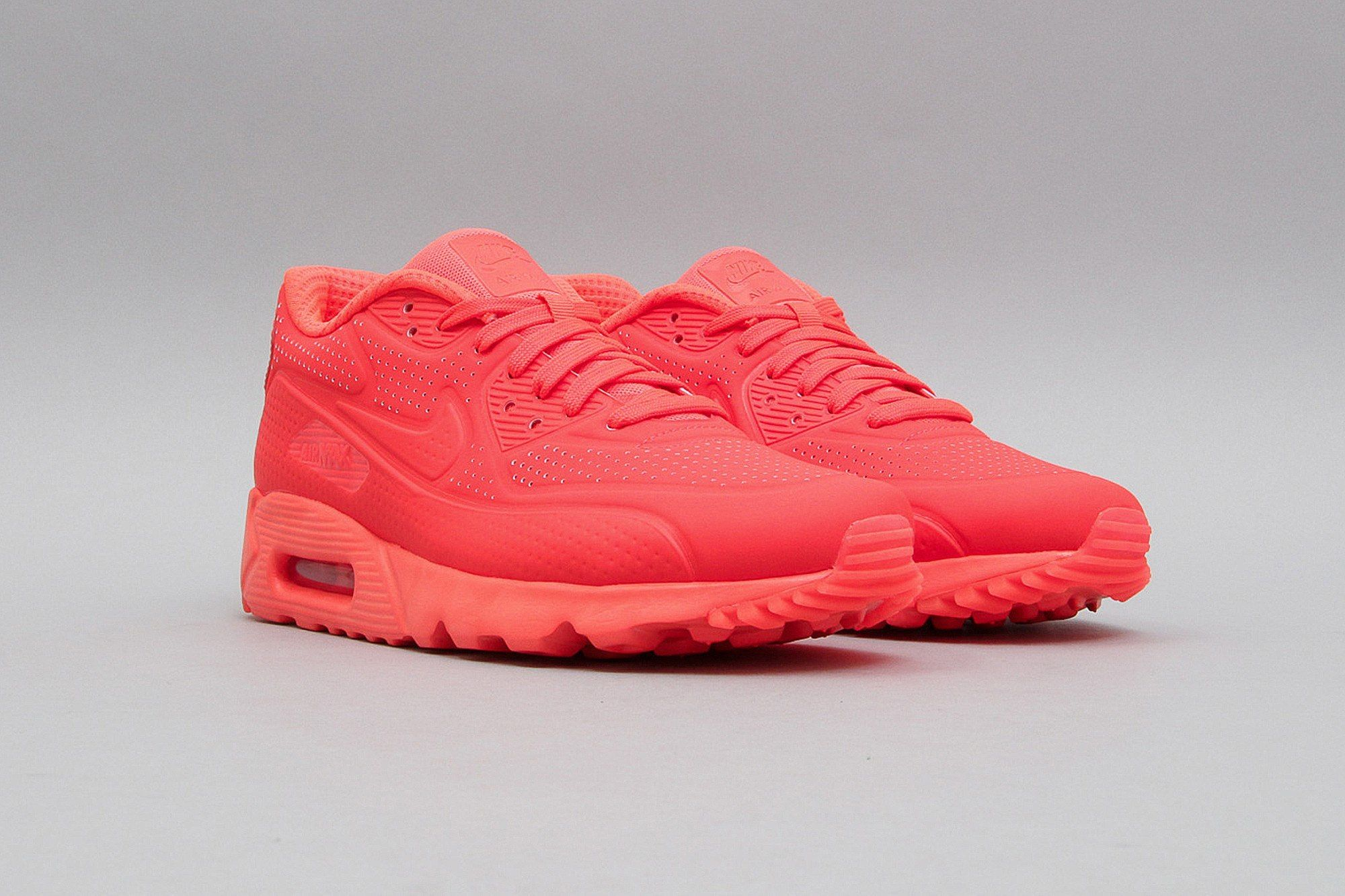 new style f31b5 24ac8 Nike Air Max 90 Ultra Moire Bright Crimson 819477 600 (Neonrot) from B V D  S T