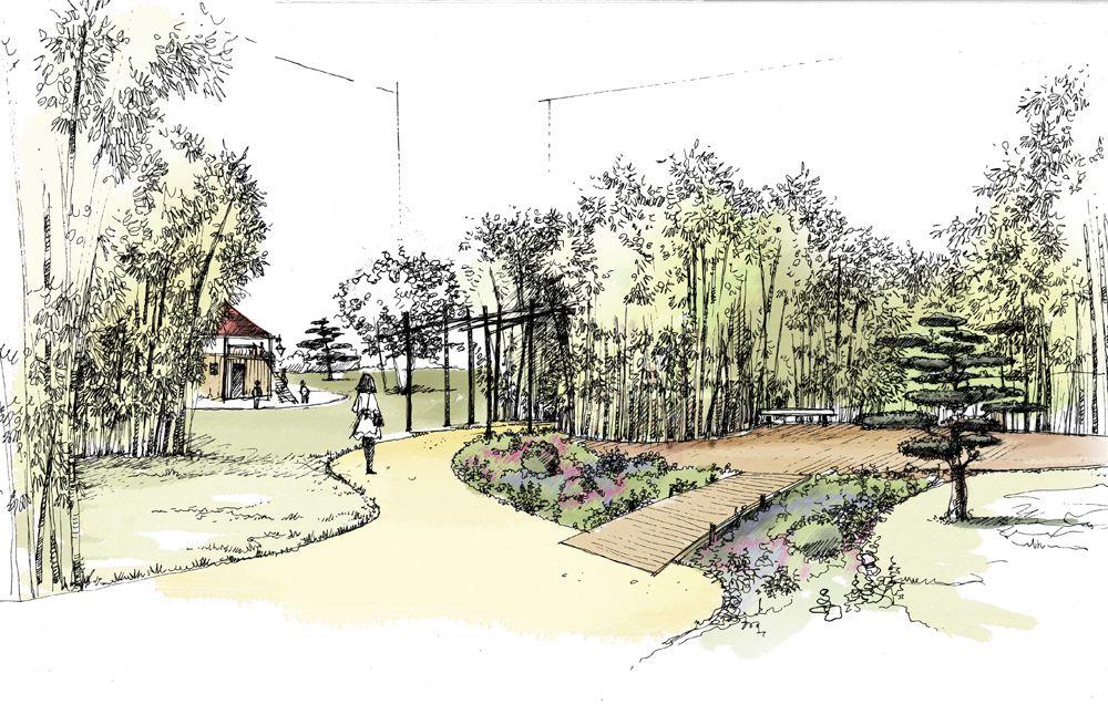 Idspace paysagiste infographiste design mobilier for 3d jardin paysagisme