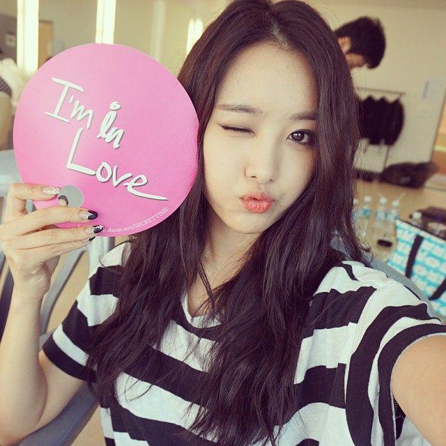 _ 난 이제 점심 먹으러갈래요😄 쪼꼼있다 봐~~~ #secret #songjieun #iminlove